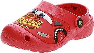 Disney Lightning Mcqueen Rust-eze Boys Sport Sandal