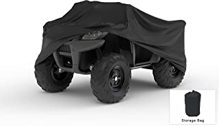 Weatherproof ATV Cover Compatible With 2005 Yamaha Bruin 250 - Outdoor & Indoor - Protect From Rain Water, Snow, Sun - Built In Reinforced Securing Straps - Trailerable - Includes Free Storage Bag