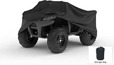 Weatherproof ATV Cover Compatible With 2016 Can-am Commander Max Xt 1000 - Outdoor & Indoor - Protect From Rain Water, Snow, Sun - Built In Reinforced Securing Straps - Trailerable - Free Storage Bag