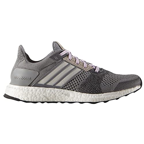 Adidas Performance Ultra Boost Street Running Shoe, grey