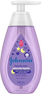 Sabonete Líquido Infantil Hora do Sono, Johnson's, 200ml