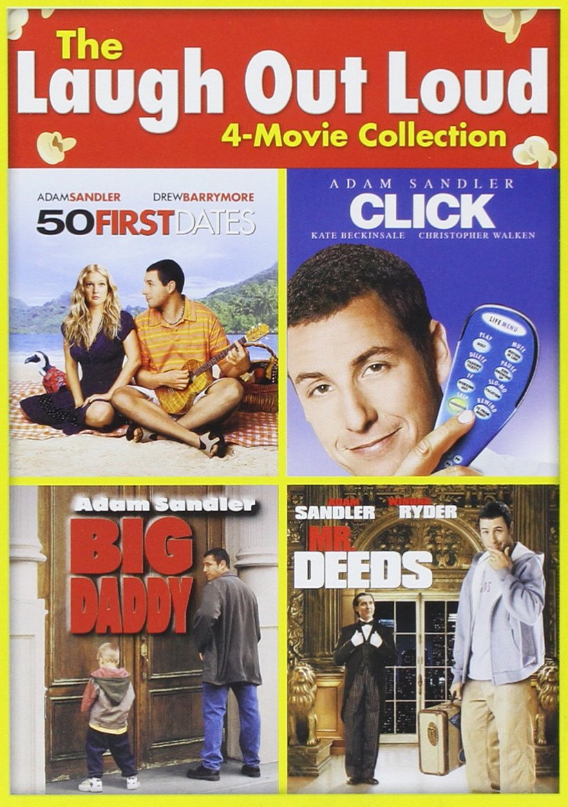 The Adam Sandler 4-Movie Collection - Click/Big Daddy/50 First Dates/Mr. Deeds