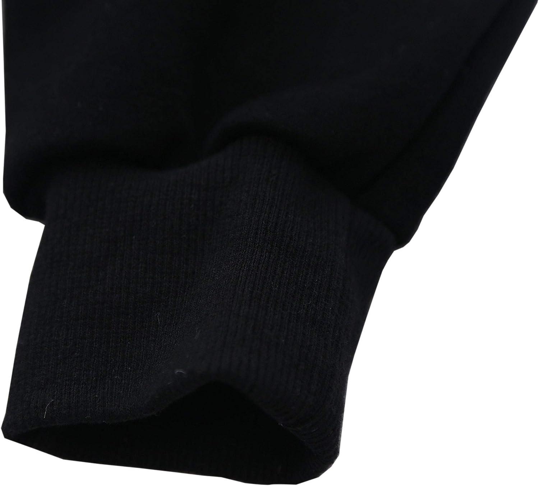 Nutexrol Damen Winter Hoodie Kapuzenpullover Lang Kapuzenjacke Sweatjacke Übergröße Kleider Sweatshirt Warm Outwear mit Fleece-Innenseite Schwarz