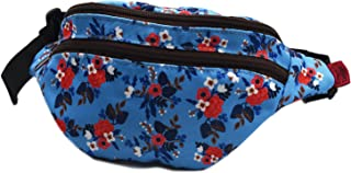 Birch Floral Gifts Bag Flower Fanny Pack Hip Waist Canvas Bum Belt Hip Pouch Bags