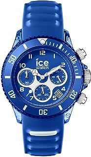 Ice-Watch - ICE aqua Marine - Montre bleue pour homme avec bracelet en silicone - Chrono