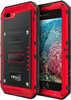 Beeasy Funda Impermeable iPhone 7 Plus/ 8 Plus, [Antigolpes] Carcasa Sumergible Resistente Reforzada Acuática Waterproof M...