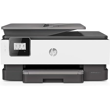 HP OfficeJet 8012 Imprimante Multifonction (Jet d'encre, Couleurs, Wi-Fi, Jusqu'à 18 ppm, Recto-Verso, A4) Instant Ink - Economisez jusqu'à 70% sur le prix de l'encre