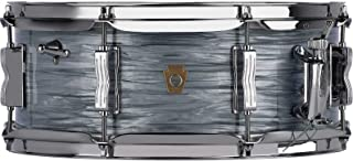 Ludwig Legacy Mahogany Jazz Fest Snare Drum - 5.5 Inches X 14 Inches - Vintage Blue Oyster