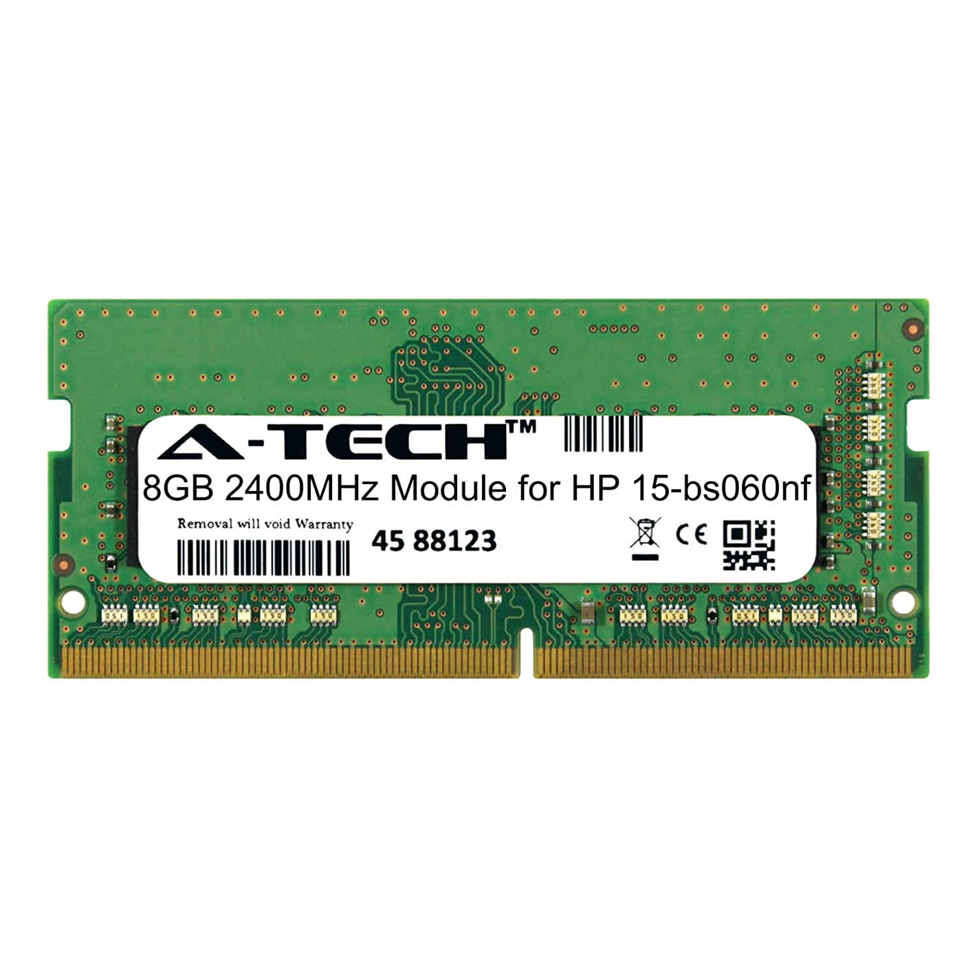 A-Tech 8GB Module for HP 15-bs060nf Laptop & Notebook Compatible DDR4 2400Mhz Memory Ram (ATMS380576A25827X1)
