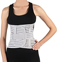 Lumbar Back Brace by Soles - Lumbosacral Back Support - Adjustable, Breathable Corset - Unisex- Reduces Back Pain, Support...