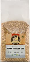 Cluckin' Good Organic Scratch 'n Corn for Chickens and Ducks - Organic and Non-GMO Project Verified - Scratch and Peck Feeds