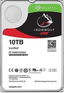Seagate 【バルク品】3.5インチ 内蔵ハードディスク 10TBIronWolf(NAS向けモデル) ST10000VN0004