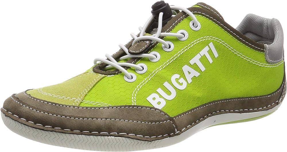 Bugatti,scarpe sportive,sneakers per uomo,in tessuto e pelle sintetica 321480075900