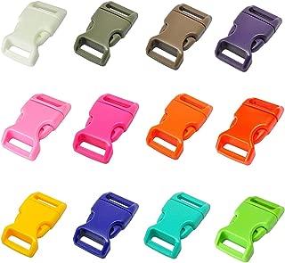 Bob-MeisterWerk Schnalle 2X25MM Clips- Steckverschluss Klippverschluss Ersatzschnalle Steckverschluss Klippverschl/üsse f/ür Rucksack 2X25MM-N Kunststoff Klickverschluss Steckschnalle
