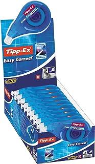 BIC Tipp-Ex Easy correct - Caja de 10 cintas correctoras de 4,2 mm x 12 m
