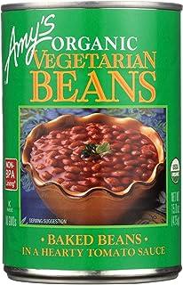 Amy's Organic Vegetarian Baked Beans - Case Of 12-15 Oz. 15 OZ