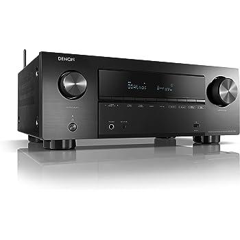 デノン Denon AVR-X2700H 8K Ultra HD HDR10+ eARC 7.2ch AVサラウンドレシーバー/ブラック AVR-X2700HK