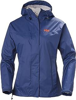 Helly Hansen Women's Loke Lightweight Hooded Waterproof Windproof Breathable Rain Coat Jacket