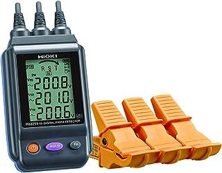 HIOKI (日置電機) 電圧計付検相器 PD3259-50 無線通信(Z3210装着時のみ):通信距離 見通し10m