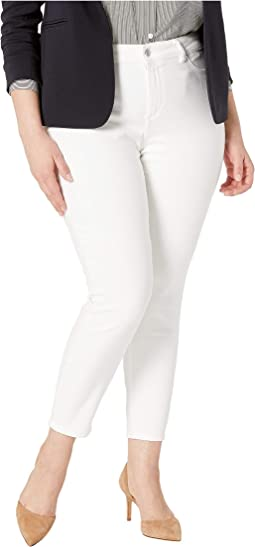 Plus Size Farrow Mid-Rise Skinny in Porcelain
