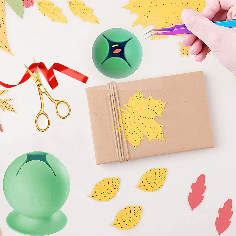 JAOK Vinyl Suction Weeding Waste Collector Soft Silicone Weeding Waste Collector with Suction Cup Star Opening