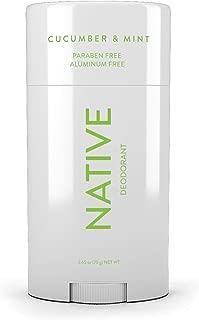 Native Deodorant - Made without Aluminum & Parabens - Cucumber & Mint…