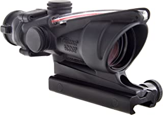 Trijicon ACOG 4 X 32 Scope Dual Illuminated Horseshoe Dot 6.8 Ballistic Reticle, Red