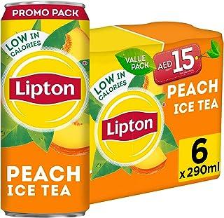 Lipton Peach Ice Tea, 6 x 290 ml