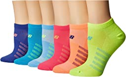 Lifestyle No Show Socks 6-Pair