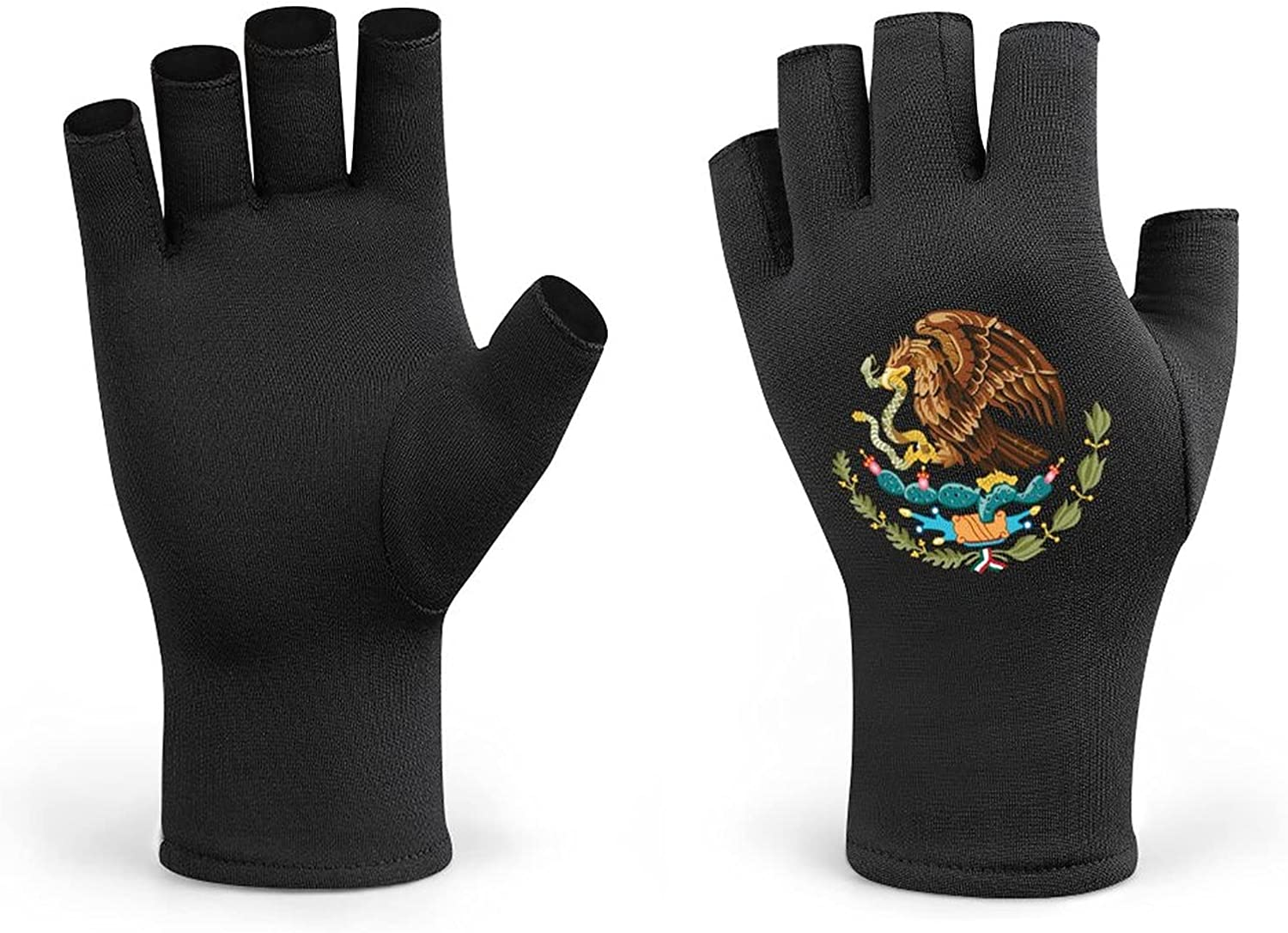 Mexican Flag Crazy Award-winning store ! Super beauty product restock quality top! Men Cycling Gloves Women Half K Winter Finger