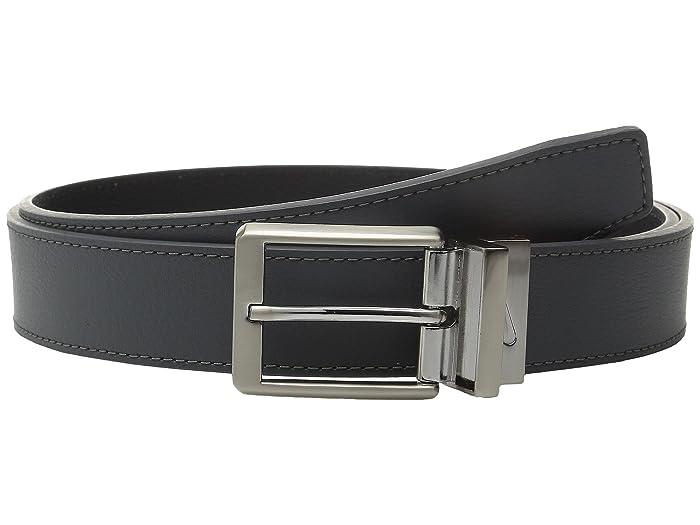 Nike Core Reversible Belt (Dark Grey/Black) Men