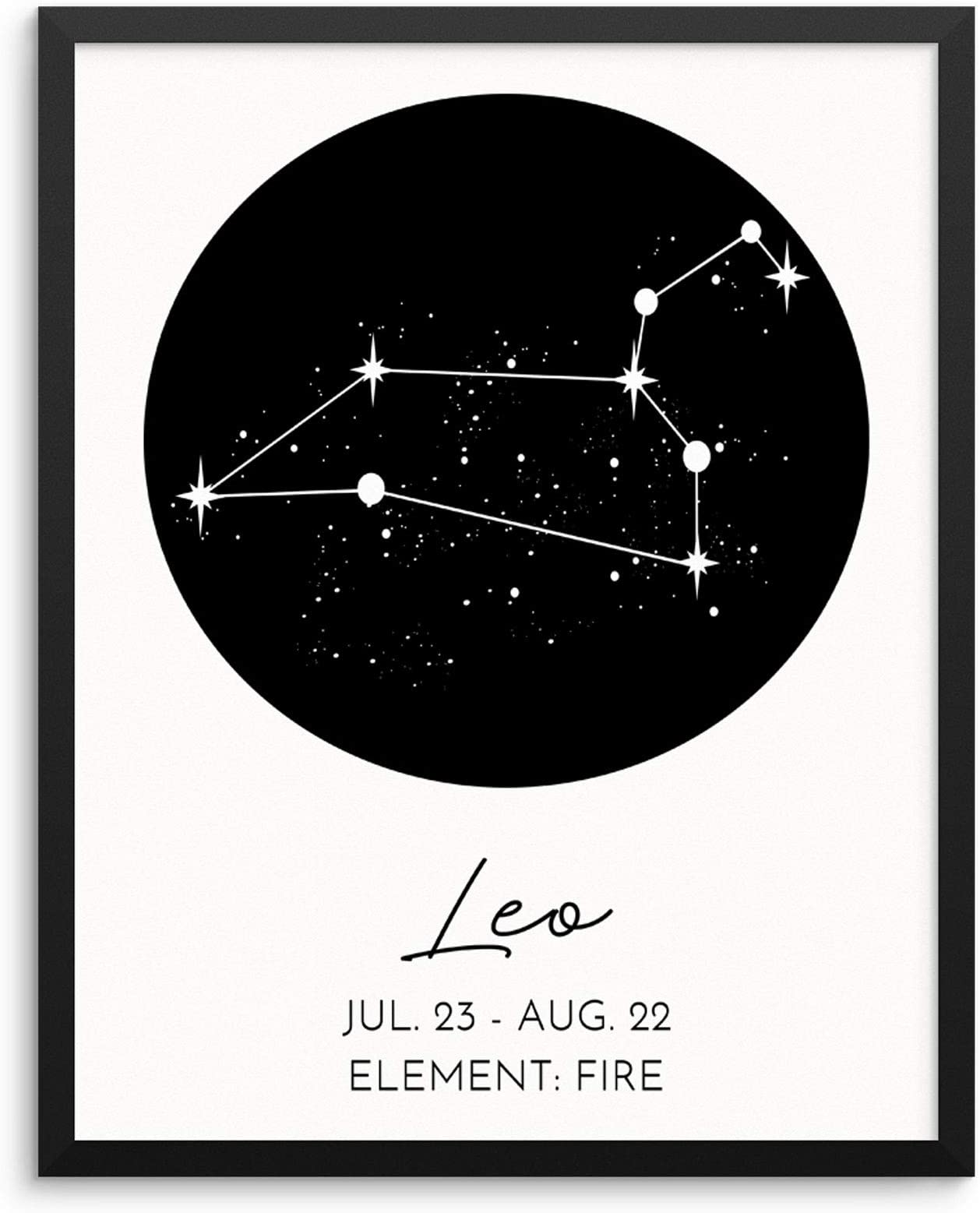 Star Signs set of 12 blank cards for every zodiac sign