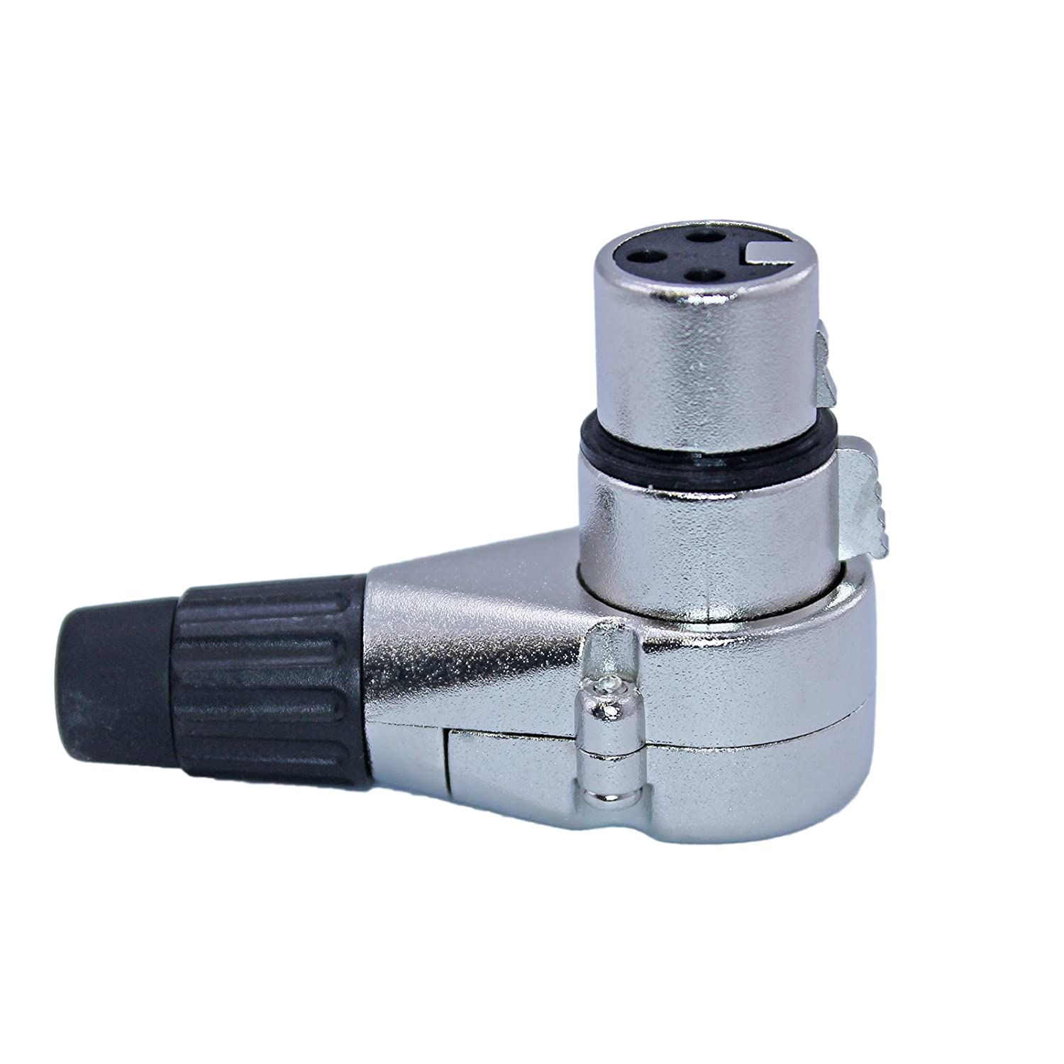 90 Degree Adjustable Classic 3 Pin XLR Clockab Angle High quality new 7 Right Connector -