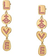 Vivienne Westwood - Love Medal Earrings