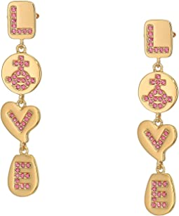 Love Medal Earrings