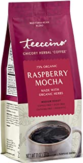 Sponsored Ad - Teeccino Chicory Coffee Alternative – Raspberry Mocha – Ground Herbal Coffee That's Prebiotic, Caffeine Fre...