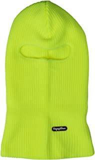 Refrigiwear Double Layer Acrylic Knit Open Hole Balaclava Face Mask, One Size Fits All