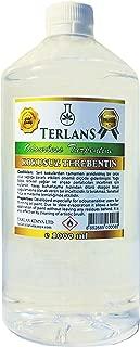 TERLANS Odorless Turpentine Substitute White Spirit Oil Paint Thinner 1 Liter
