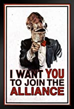 Poster Foundry I Want You to Join The Alliance Uncle Ackbar Movie Propaganda Propaganda 14x20 inches Black 180658