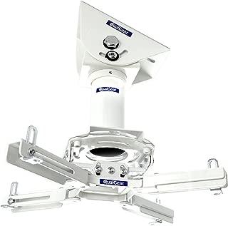 QualGear Pro-AV QG-KIT-VA-3IN-W Projector Mount Kit Accessory Vaulted Ceiling Adapter, 3