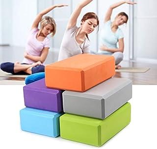ROSE IN THE BOX Yoga Block - Supportive Latex-Free EVA Foam Soft Non-Slip Surface for Yoga, Pilates, Meditation