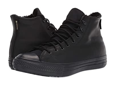 Converse Chuck Taylor All Star Winter Hi (Black/Black/Black) Shoes