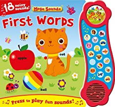 First Words (Sound Book) (1) (Mega Sounds)