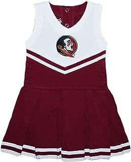 Florida State University FSU Seminoles Baby and Toddler Cheerleader Bodysuit Dress
