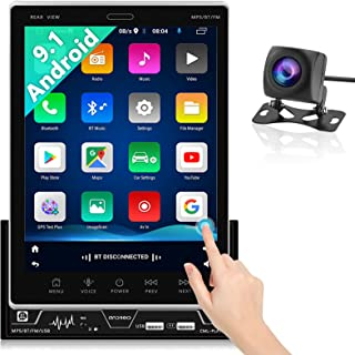$166 » Sponsored Ad - Android Car Stereo Double Din 9.5'' HD Vertical Touch Screen GPS Navigation Bluetooth Car Radio with Three ...