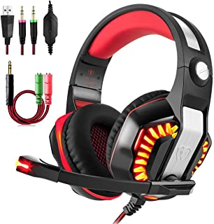 Gaming Headset, Beexcellent GM-2 Over-ear Stereo Bass Wired Hi-Fi - Kulaklık