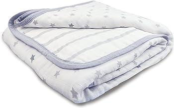 Aden by aden + anais Dream Blanket | Muslin Baby Blankets for Girls & Boys | Ideal Lightweight Newborn Nursery & Crib Blan...