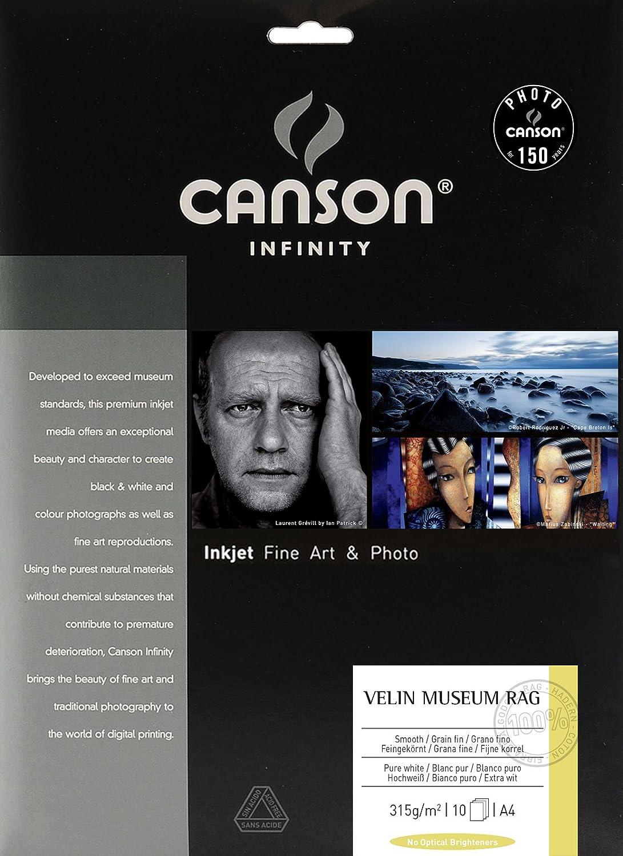 Canson 206111017 Velin Museum Rag Packung, Photopapier, A4 B002BDCQSI | | | Moderater Preis  266834