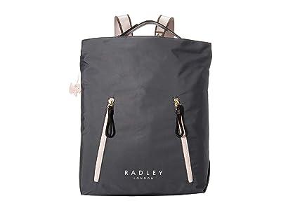 Radley London Crofters Way Large Zip Top Hobo (Shadow) Hobo Handbags