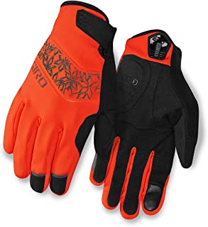 GIRO Candela Winter Cycle Glove, Glow Red,size M